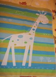 Фланелевое немецкое одеяло от 0+
